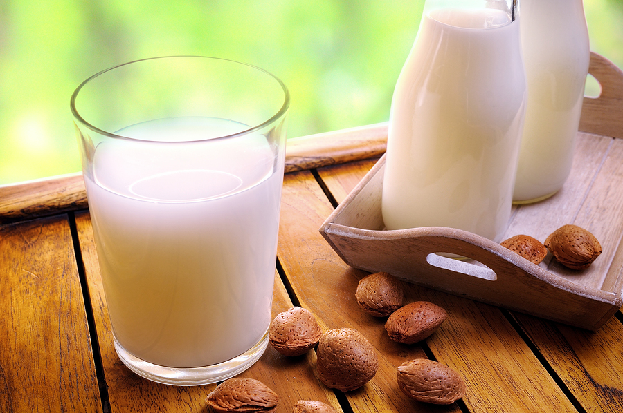 Almond Milk (made with coconut water)