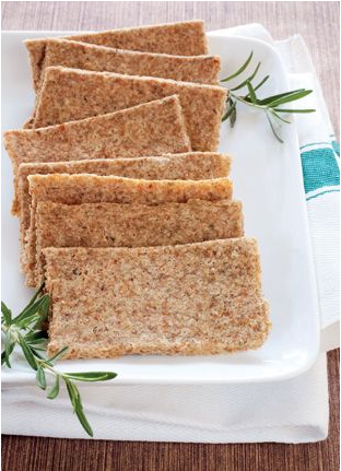 Rezept würzige Cracker