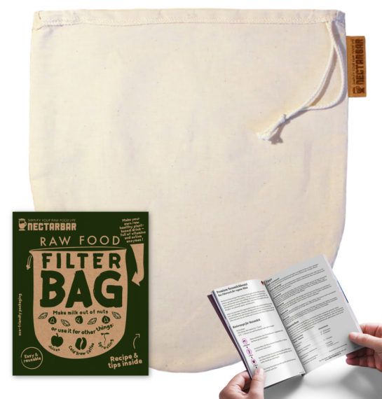 Nut Milk Bag with Booklet