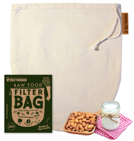 Raw Food Filter Bag by Nectarbar