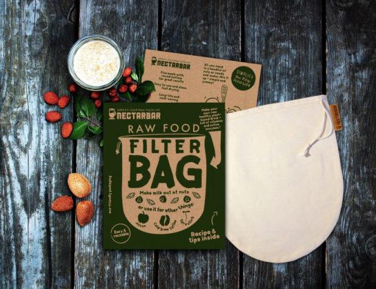 Raw Food Filter Bag - Premium Nut Milk Bag