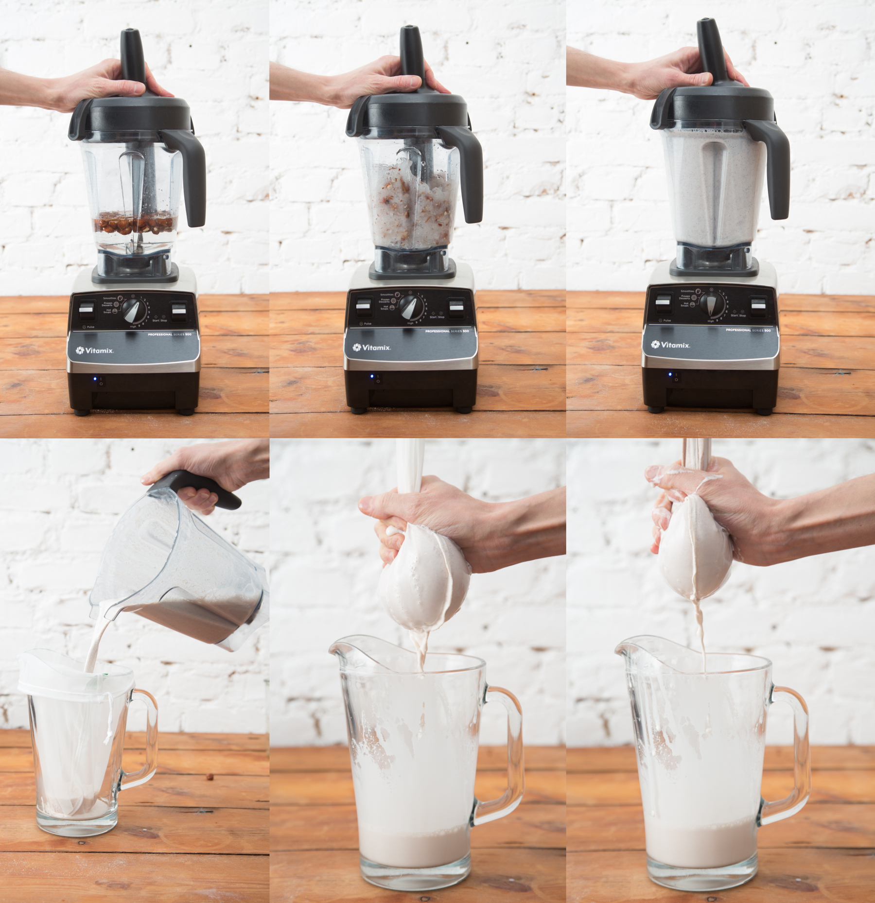 Making Nut Milk at home by Nectarbar