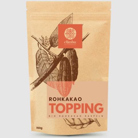 Elimba Topping 100% Rohkakao