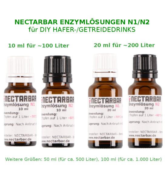 NECTARBAR Enzyme für DIY Hafermilch